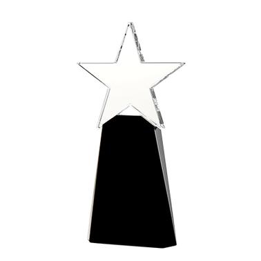"8"" STAR ELITE CRYSTAL AWARD"
