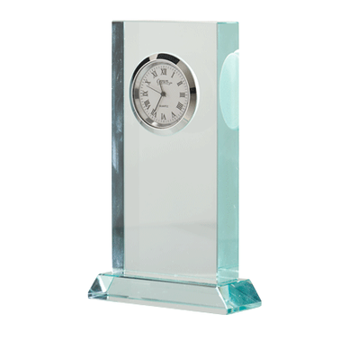 "4.75"" JADE DUO CLOCK CRYSTAL"