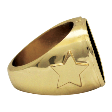 GILDED GLSSDME INS RING SZ 6