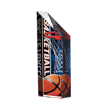 "5.5""VIBRANT BASKETBALL CRYSTAL"