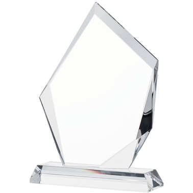 "6"" APEX CRYSTAL AWARDS W/ETCH"