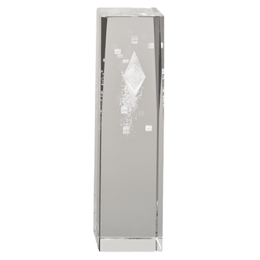 STAR LASER CUT CRYSTAL AWARD