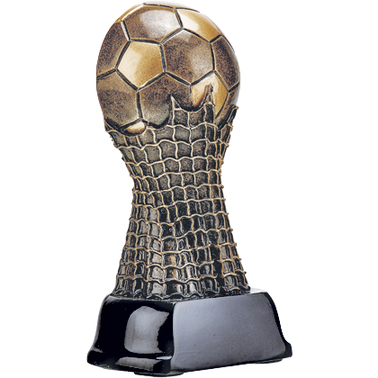 "4.5"" TREBLE SOCCER TROPHY"