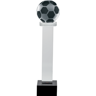 "6"" SOCCER AUSTERITY CRYSTAL"