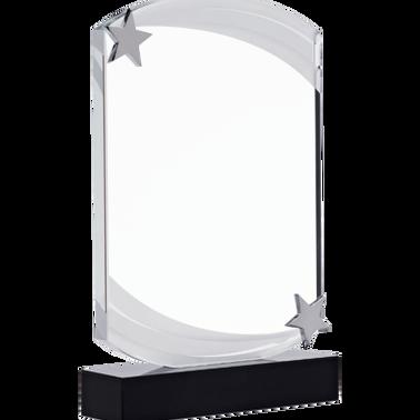 "7"" NEBULA STAR CRYSTAL AWARD"