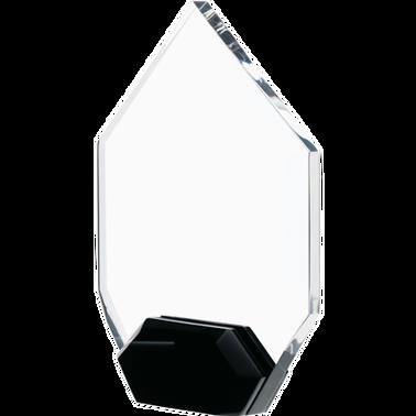 "7"" CREST DIAMOND ACRYLIC"