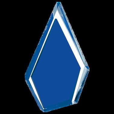"8.5"" BLUE POINTE ACRYLIC"