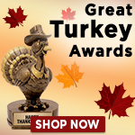 Thanksgiving Trophies and Awards