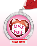 Valentine's Day Medals
