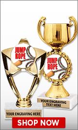 Jump Rope Trophies
