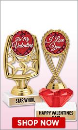 Valentine's Day Trophies