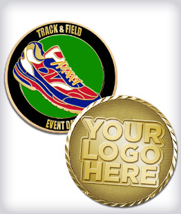 Custom Running Coins