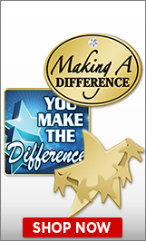 You Make A Difference Pins