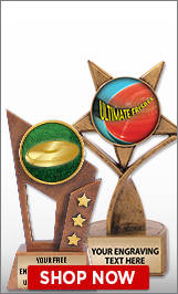 Ultimate Frisbee Sculptures