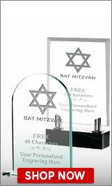 Bat Mitzvah Crystals