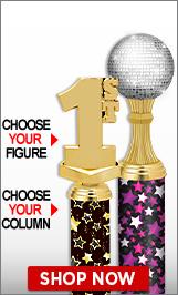 Hip Hop Column Trophies