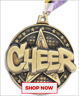 Cheerleading Medals