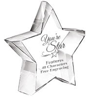 Stellar Crystal Award