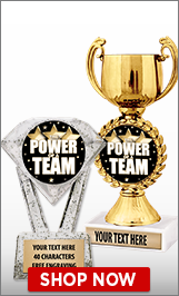 Power Of A Team Trophies