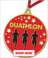 Duathlon Custom Medals