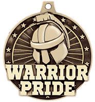 """2"""" 3D Warrior Pride Medal"""