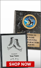 Ice Skating Plaques