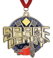 Space Derby® Medal