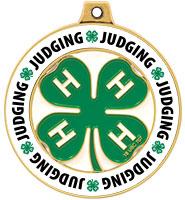 "2"" 4-H Judging Rimz Medal"