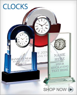 Recognition Clock Awards
