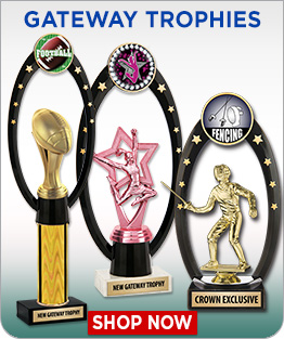 Gateway Backdrop Trophies