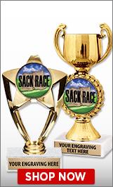 Sack Race Trophies