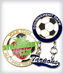 Custom Specialty Soccer Pins