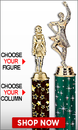 Irish Feis Column Trophies