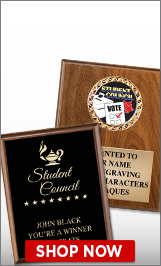 Student Council Plaques