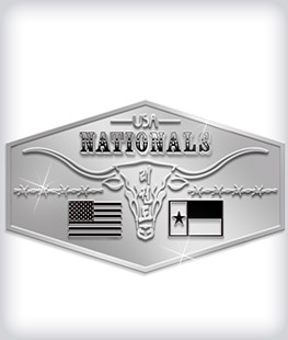 Shiny Silver Custom Belt Buckles