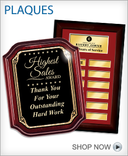 Recognition Plaque Awards