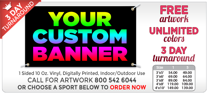 Crown Custom Banners