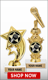 Microphone Trophies