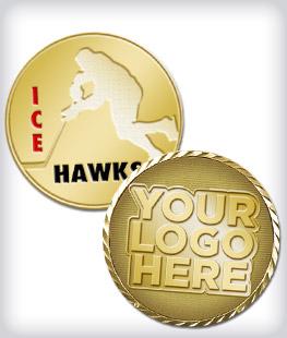 Custom Hockey Coins