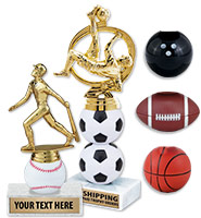 "7"" - 11"" Extreme Sport Trophies"