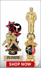 Judo Trophies