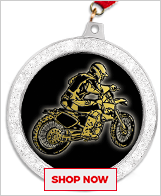 Dirt Bike Medals