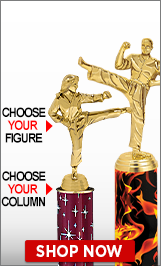 Karate Column Trophy