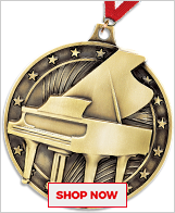 Piano Medals