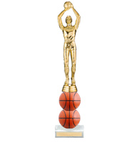 "9"" Xtreme Basketball Trophy"