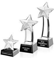 Onyx Star Crystal Pedestal