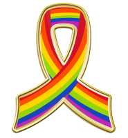 Rainbow Awareness Insert Pin