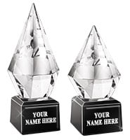 Diamond Jewel Crystal Award