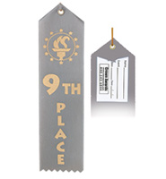 9th Place Award Ribbon