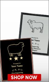 Livestock Plaques